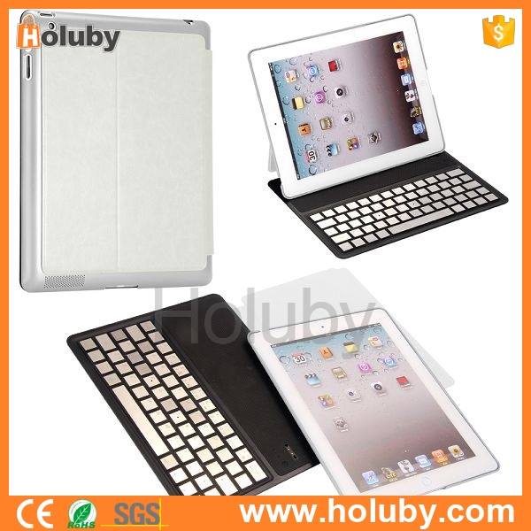 Wholesale Detachable Ultra Slim Lightweight Bluetooth 3.0 Keyboard For iPad 2 the New iPad iPad 4