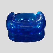 Adult transparent inflatable chair