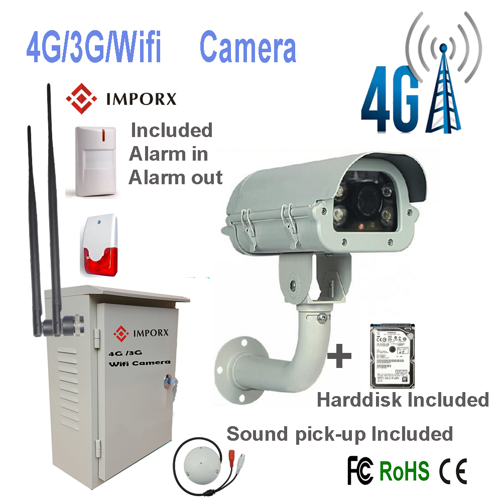 Hot Sell Support Audio in and Alarm in High Speed Dome, 4 <strong>g</strong> / 3 <strong>g</strong>/WIFI HD <strong>1080P</strong> CCTV PTZ IP Camera Security Camera