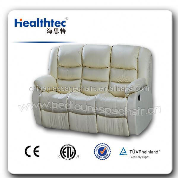 popular automatic orange recline sofa