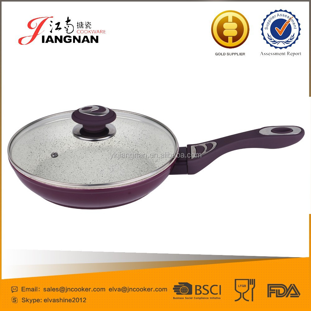 2015 Simple Cooking Aluminum Non-stick Aluminum Automatic Wok