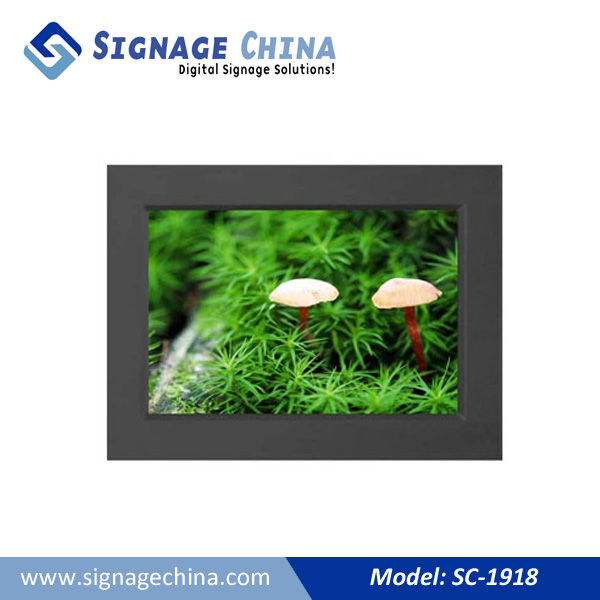 SC-2218 Network Digital Signage LCD Player For Resturant Menu