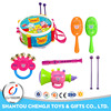 Plastic Instruments Drum Set Baby Educational