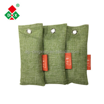 Wholesale Moso Natural Car Air Purifying Activated Carbon Bamboo Charcoal Odor Absorber Deodorizer Bag
