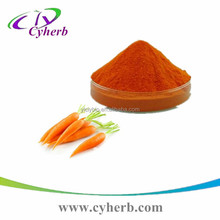 Hot selling cream ingredients carrot extract powder fat soluble beta carotene,beta carotene powder