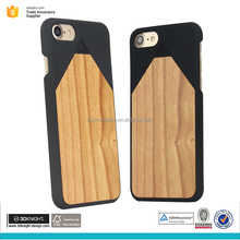 mobile phone accessories case natural wooden cell phone case for i7