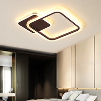 High quality white square decorative residential coffee bar led ceiling light