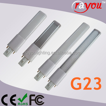 120VAC g23 led 4w,led lamp g23 6w,g23 led pl lamp for 13W CFL lamp directly replace
