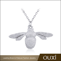 OUXI Wholesaler Silver Jewellery 18K Gold Plated Necklace