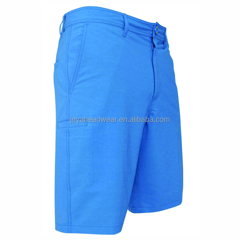 Blank men shorts simple 6 heavy duty cargo pockets half pants anti-wrinkle
