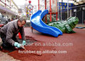 EPDM rubber tiles for rubber flooring