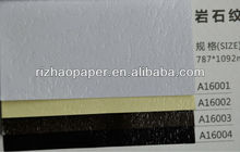Embossed paper Stone texture fancy packaging paper for boxes sheet or roll