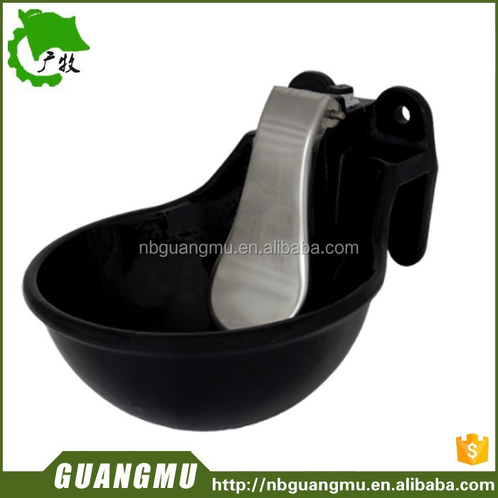 Cattle iron drinking water bowl,cheap cattle water trough for sale