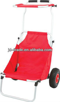Red Folding Beach Fishing Chair Cart Buy Red Folding Beach Fishing Ch