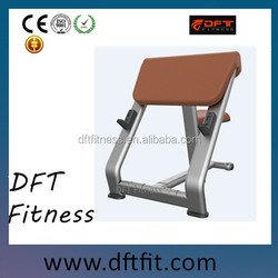 Impulse portable professional indoor sit up bench exercise equipment/DFT-826 Scott Bench made by DFT fitness