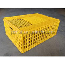 HJ high quality durable 100% plastic poultry cage for Chicken Transport Cage HJ-DN015