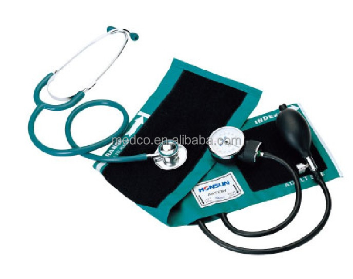 MK-50B High quailty Blood Pressure Monitor Medical Best Professional Aneroid Sphygmomanometer WIth Stethoscope