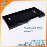 Crystal case for SoftBank AQUOS CRYSTAL 2 403SH,PC case for 403sh