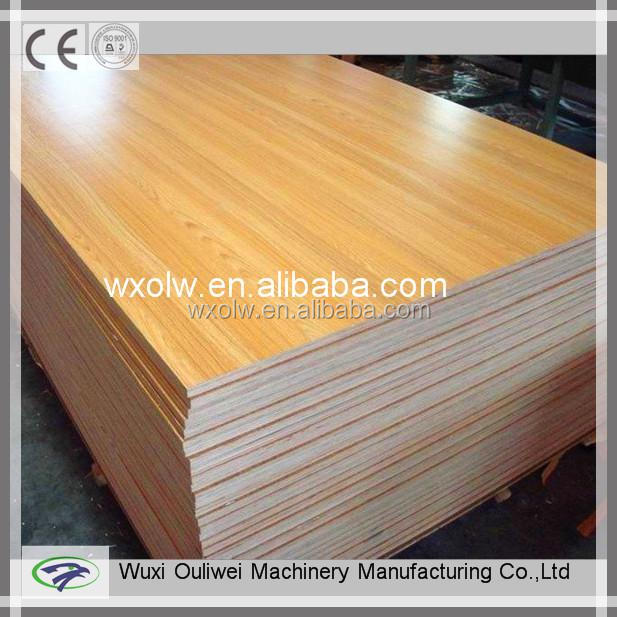 Wood polishing machine of furniture board