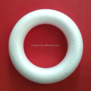 Yipai wholesale White styrofoam wreath ring