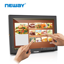 10.1 inch Car Reverse LCD Capacitive Touch Screen Panel Monitor with hd.mi,VGA,AV input