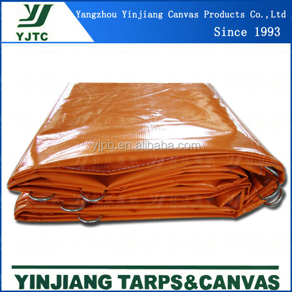 100% Polyester Pvc Coated Fire Retardant Tarpaulin