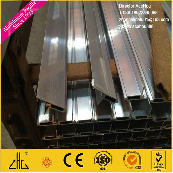 Gabinete de cocina marco vidrio puerta aluminio cocina de for Ventanas de aluminio para cocina