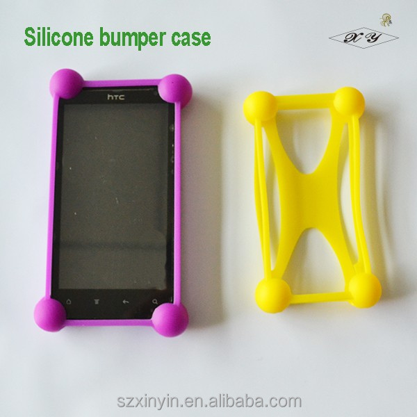 Fashion design wholesale silicone rubber cell phone case