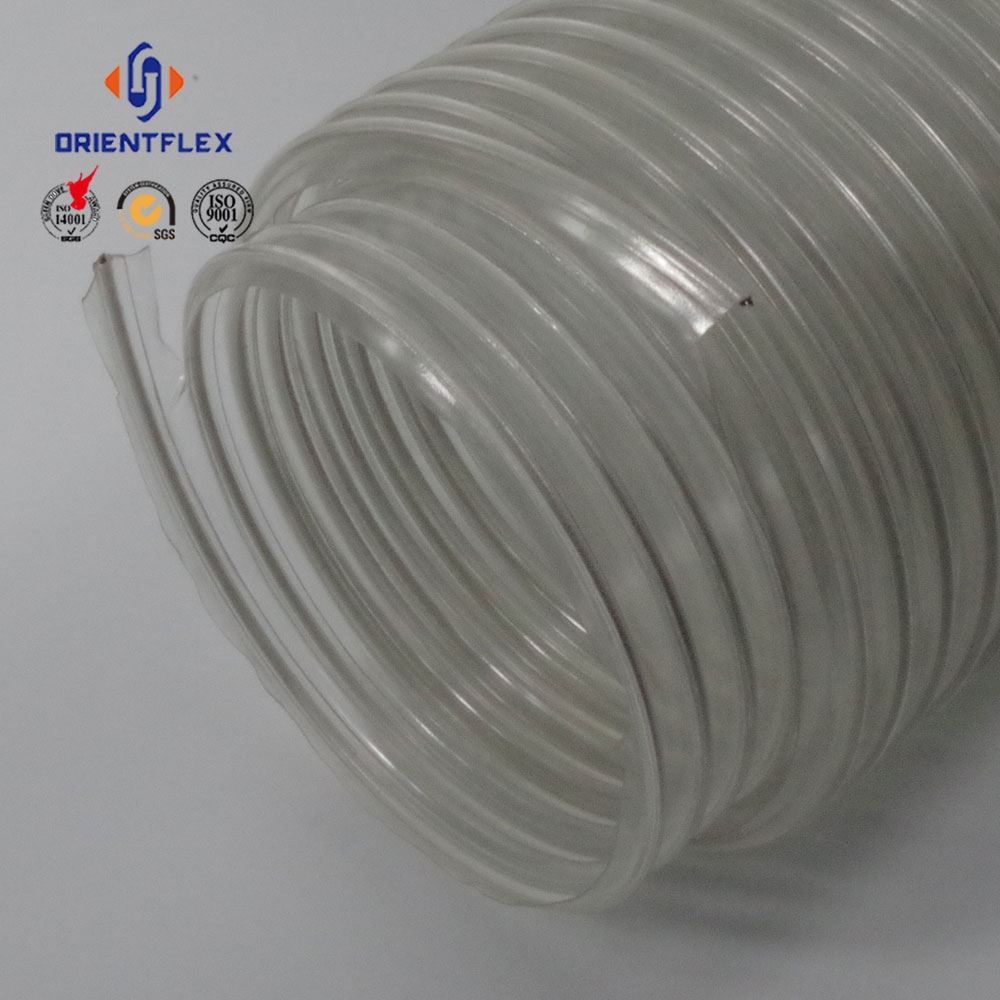 PVC spiral electric wire flexible hose