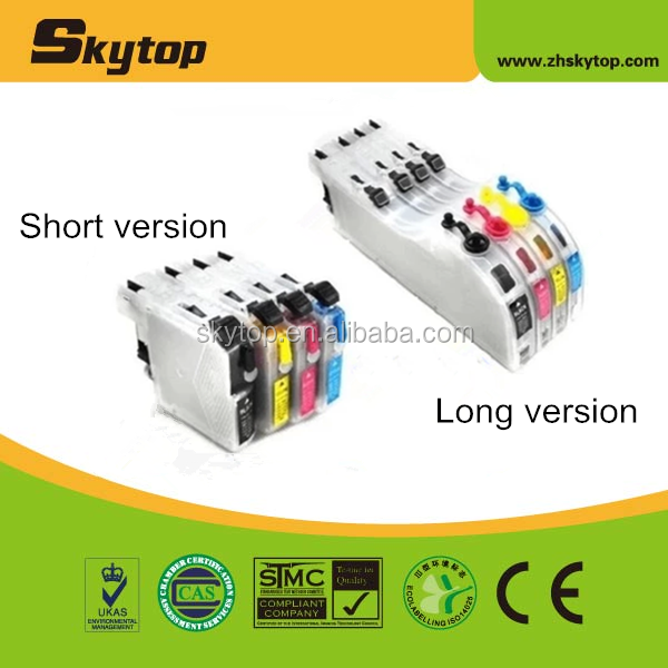 For brother ink cartridge, dcp-j100 refillable ink cartridge
