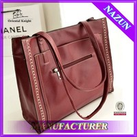 No MOQ Women's Western handbag alibaba express with discount price leather bag for lady
