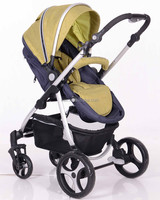 3 IN 1 OEM factory baby stroller aluminum stroller with carry cot baby carseat B838