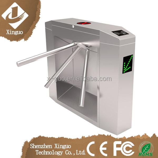 Automatic Card Reader ~ Automatic rfid card reader security turnstile gate bridge
