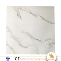 White Polish Porcelain Floor Tile 600x600