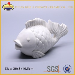craft morden ornaments ceramic sea fish figurine for home decoration