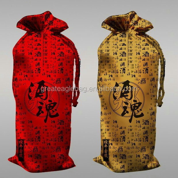 Import cheap goods from china shape lovely cheap wine bags