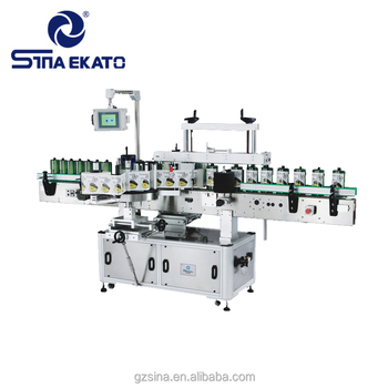 2018 high quality automatic bottle filling capping and labeling machine