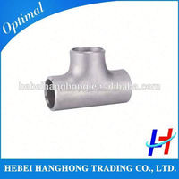 Trade Assurance Supplier sch40 stainless steel pipe tee