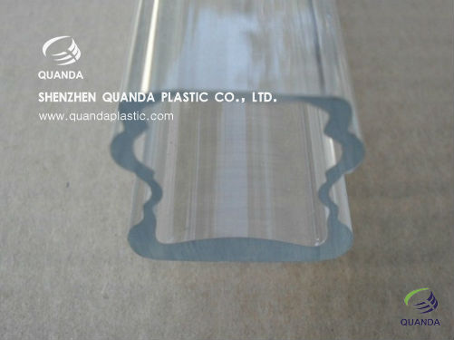 Hot Sale Extrude Tube Totally Clear PMMA/Polycarbonate Profile Extrusion