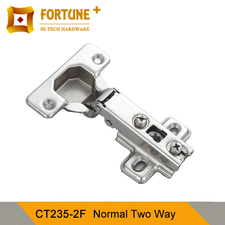 35mm cup 60g CT235-2 sliding concealed two way shoe cabinet hinge