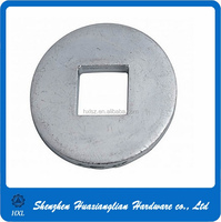 Din440-1990 large flat round washer with square hole