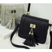 E1403 ladies hot sale bag 2016 small hobo fashion tassel handbags cheap