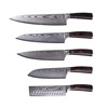 Homesen Japanese VG10 damascus knife set