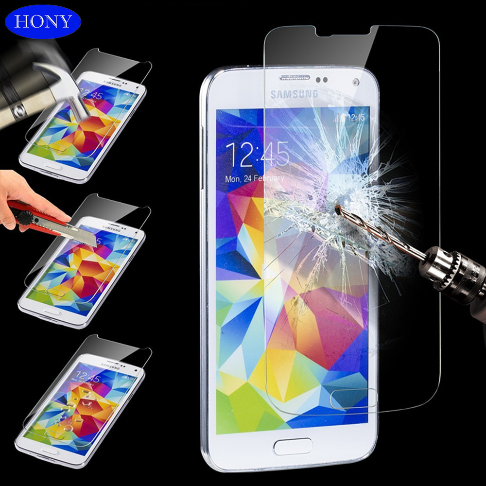 Transparent HD Clear Samsung Note 3 Color tempered glass screen protector