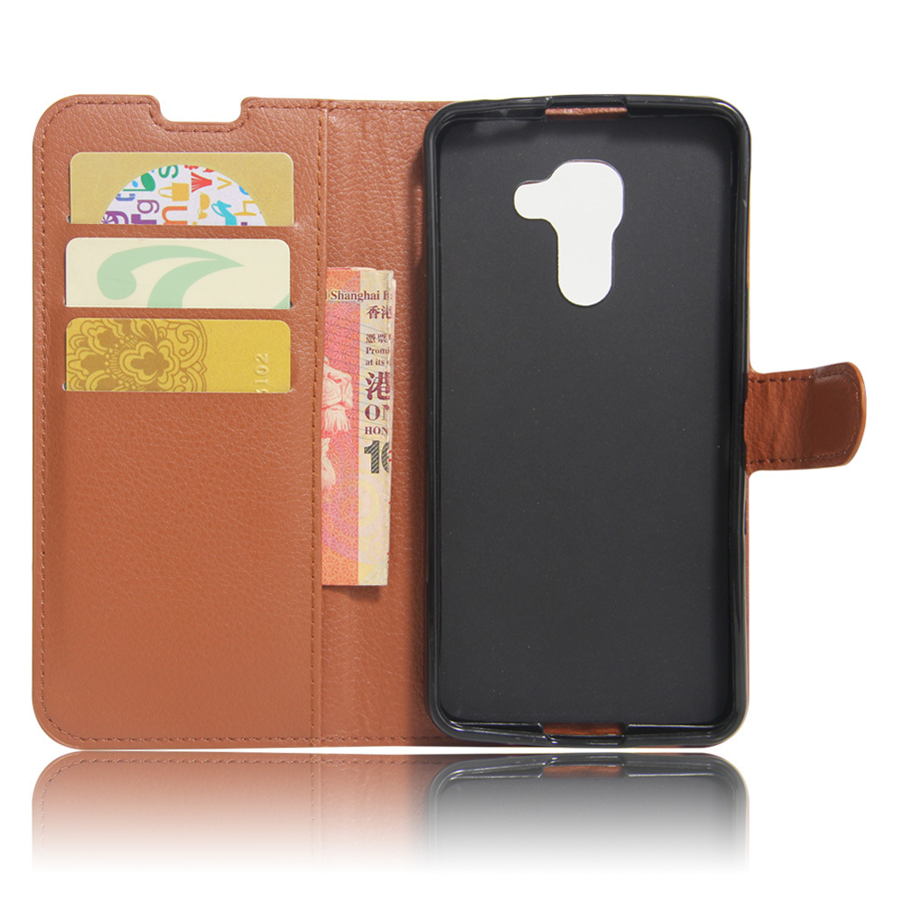 PU flip leather case,back cover for BlackBerry DTEK60 new phone with 3 card slots/money pocket