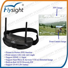 E490 FlySight SpeXman One PIP goggles glasses for gimbal 3 axis remote control airplane 2015 drone radio control android