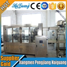Quality Is First Automatic Small Bottle Washing Filling Capping Machine