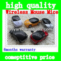 Car USB 2.4G 1600dpi 3D Optical Wireless Mouse Mice,BLue Color
