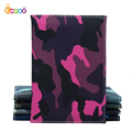 Encai Unique Camouflage Passport Holder Cheap Travel PU Passport Cover