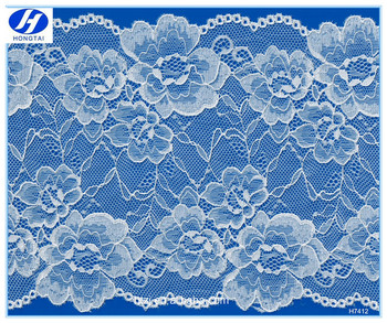 2016 Hongtai new design cotton guipure tulle lace curtain fabric